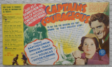 Captain Courageous, Flyer/Herald, Spencer Tracy, '37